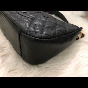 CHANEL Bags - AUTHENTIC Chanel Caviar Timeless Shoulder Bag